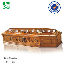 China made wholesale European style luxury coffin
